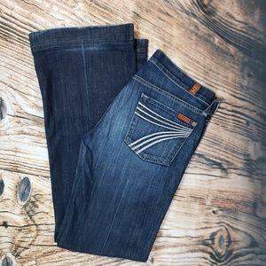7FAMK Dojo 7 for all mankind Jeans 29